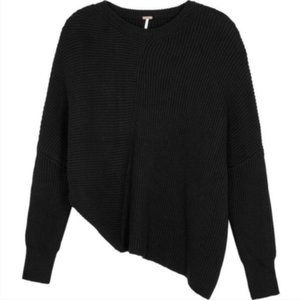 Free People Downtown Dolman Asymmetrical Sweater